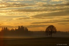 Nach Sonnenuntergang im November
