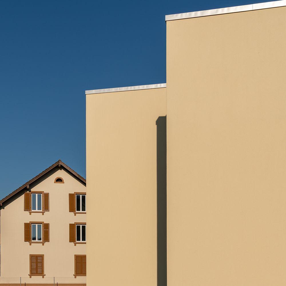 Nachbars Bau
