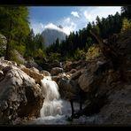 Nachlese Dolomiten - Bergbach