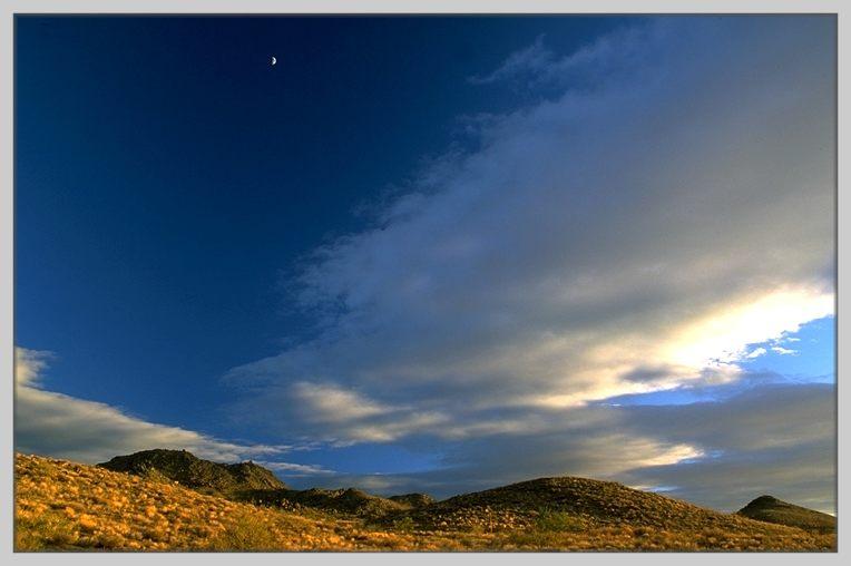 Nachmittags an der alten Route 66, Arizona (nähe Kingman)
