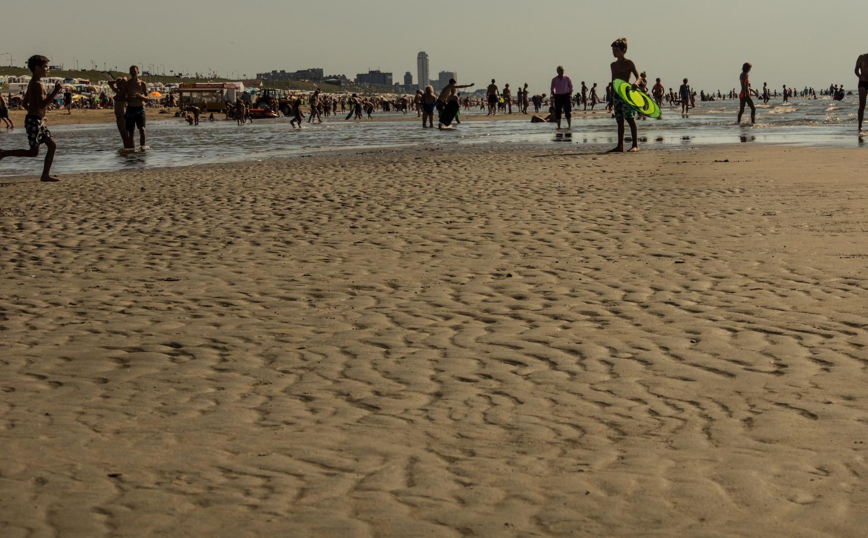 Nachmittags Ebbe - Bloemendaal aan Zee/Niederlande