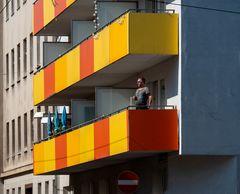 nachmittagstschick am balkon