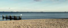 Nachsaison - Blick auf die Halligen von Föhr