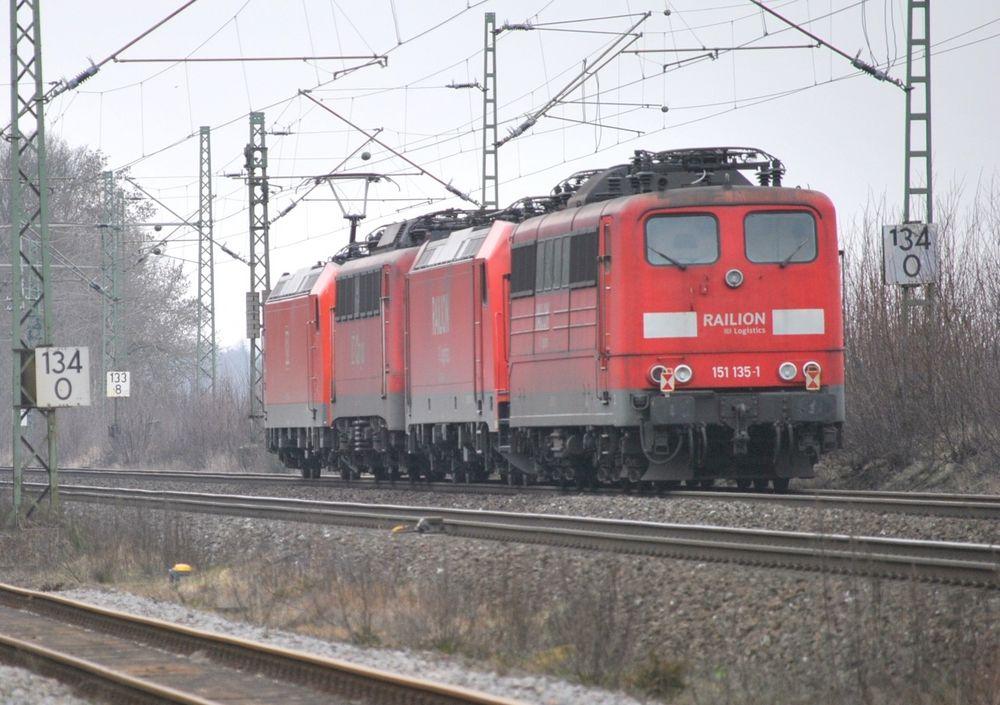 """""""Nachschuss"""" des Lokzuges am 9.März 2012"""