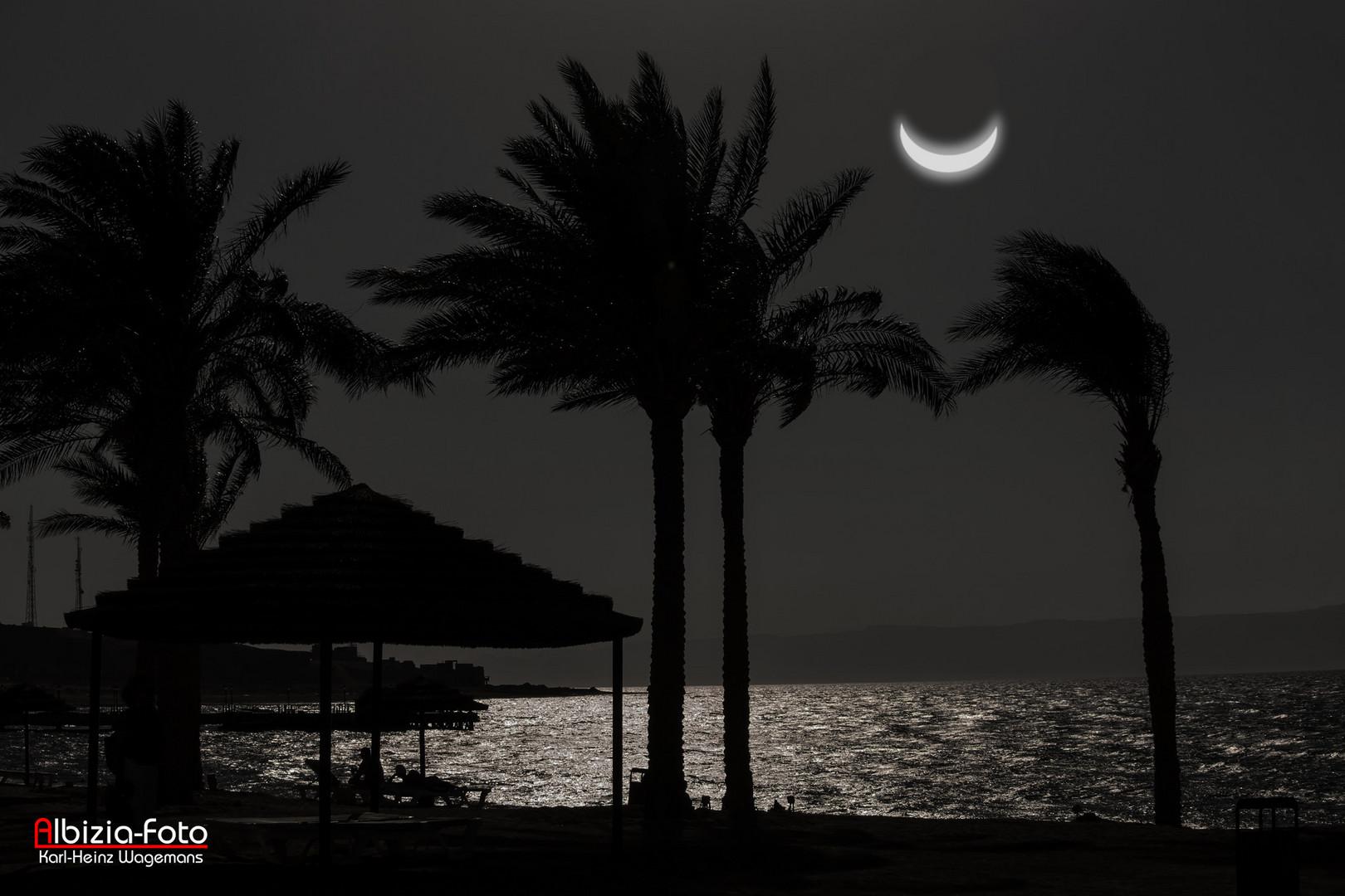 Nacht am Roten Meer - Aqaba (Jordanien)