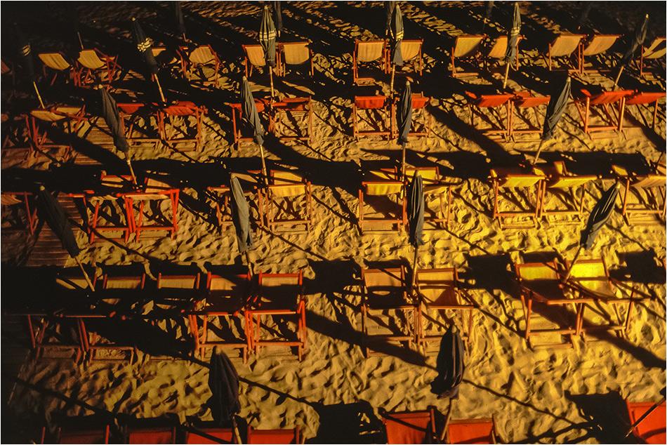 Nacht am Strand