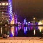 Nacht der Lichter im Harburger Binnenhafen