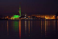 Nacht | Hafen | Blick
