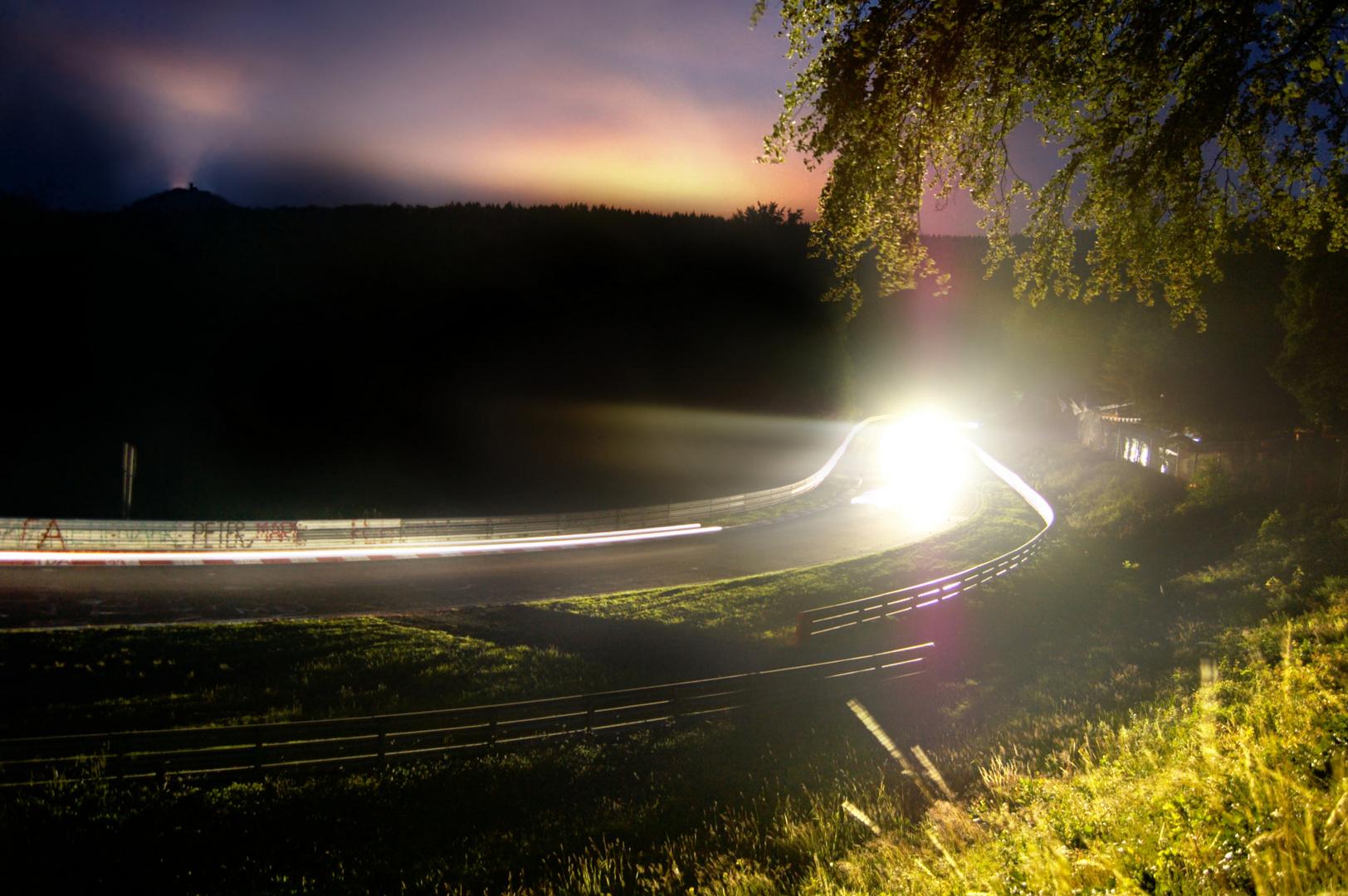 Nacht im Forst