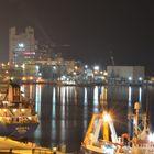 Nacht im Hafen von Haifa 1