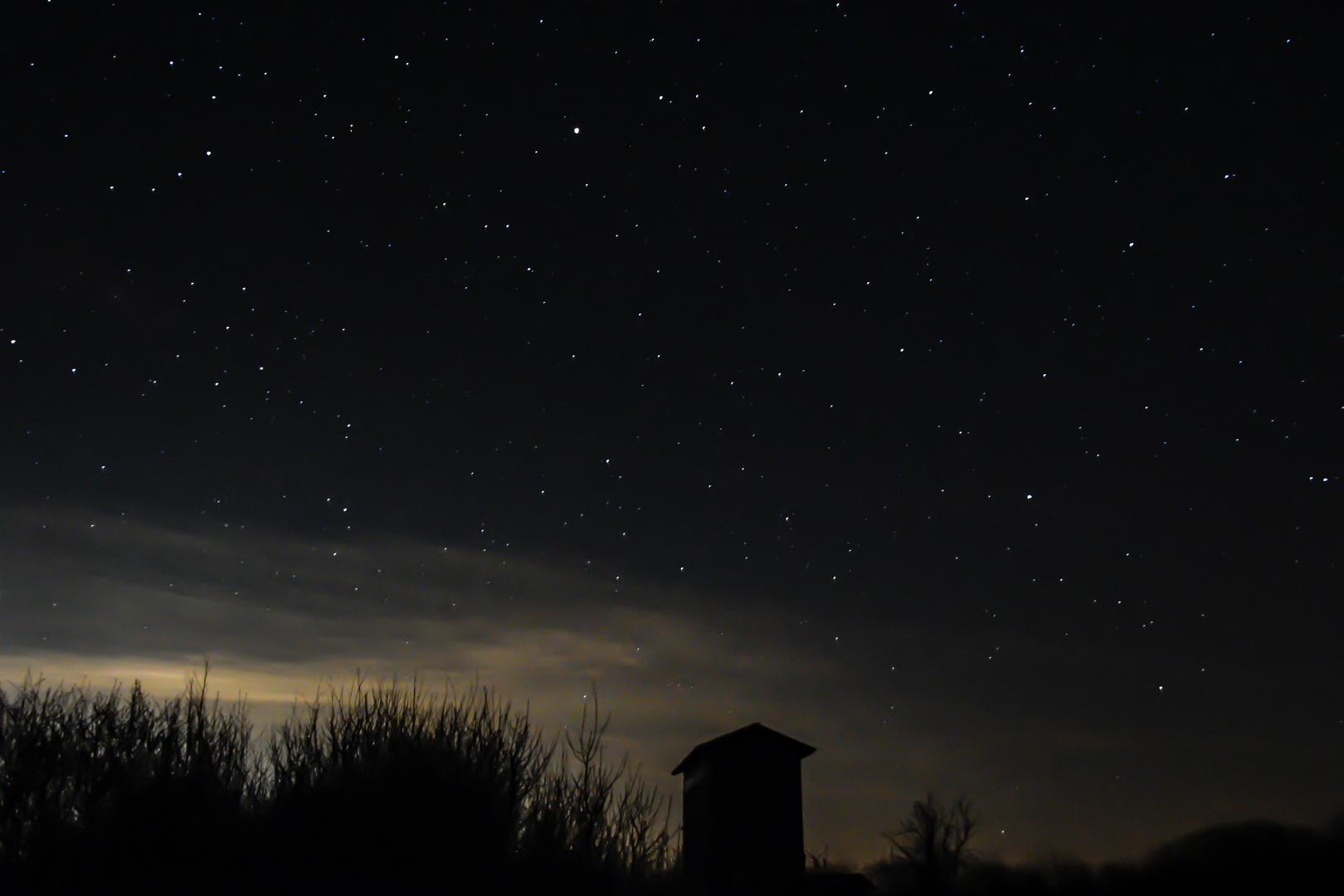 Nacht im Havelland