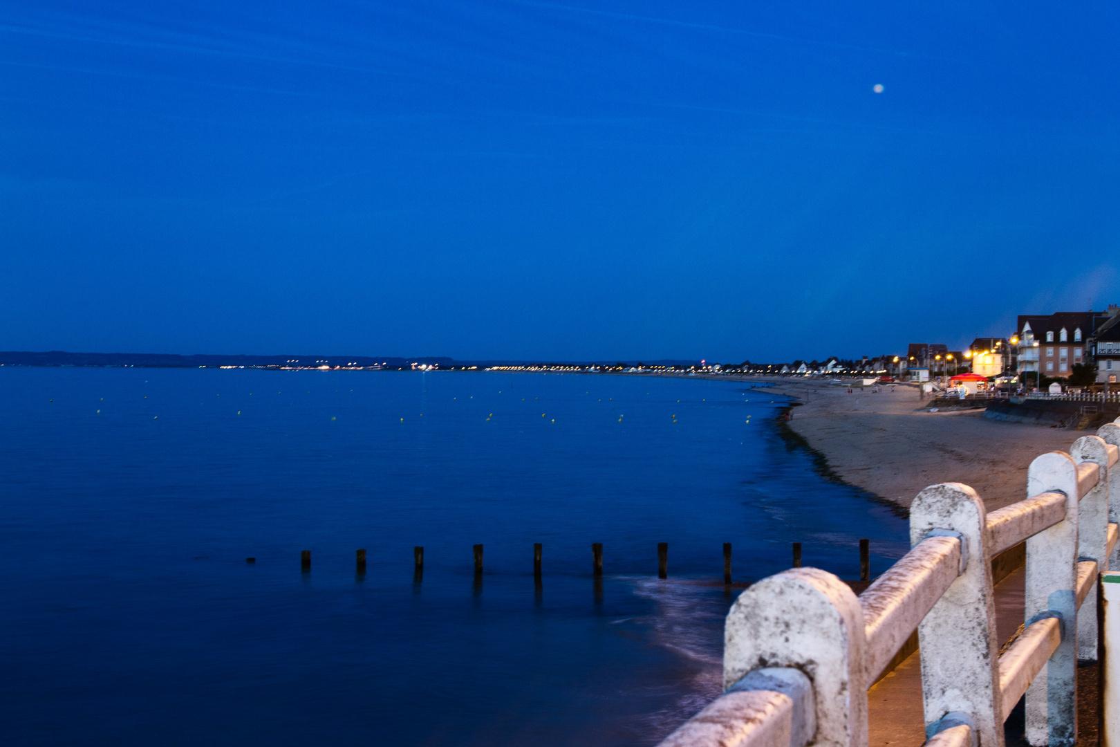 Nacht in der Bucht