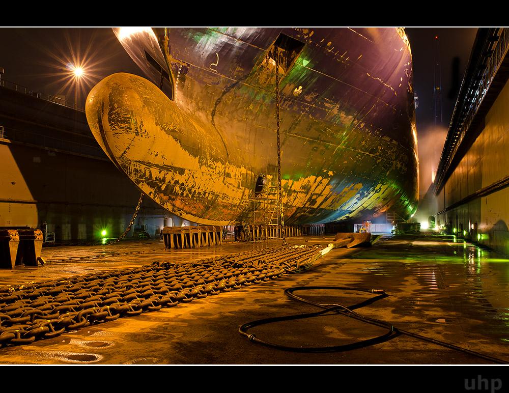 Nacht in Dock V