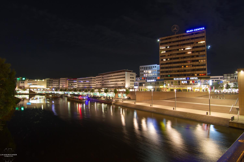Nacht in Saarbrücken
