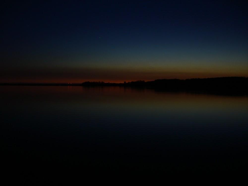 Nacht über dem Belt