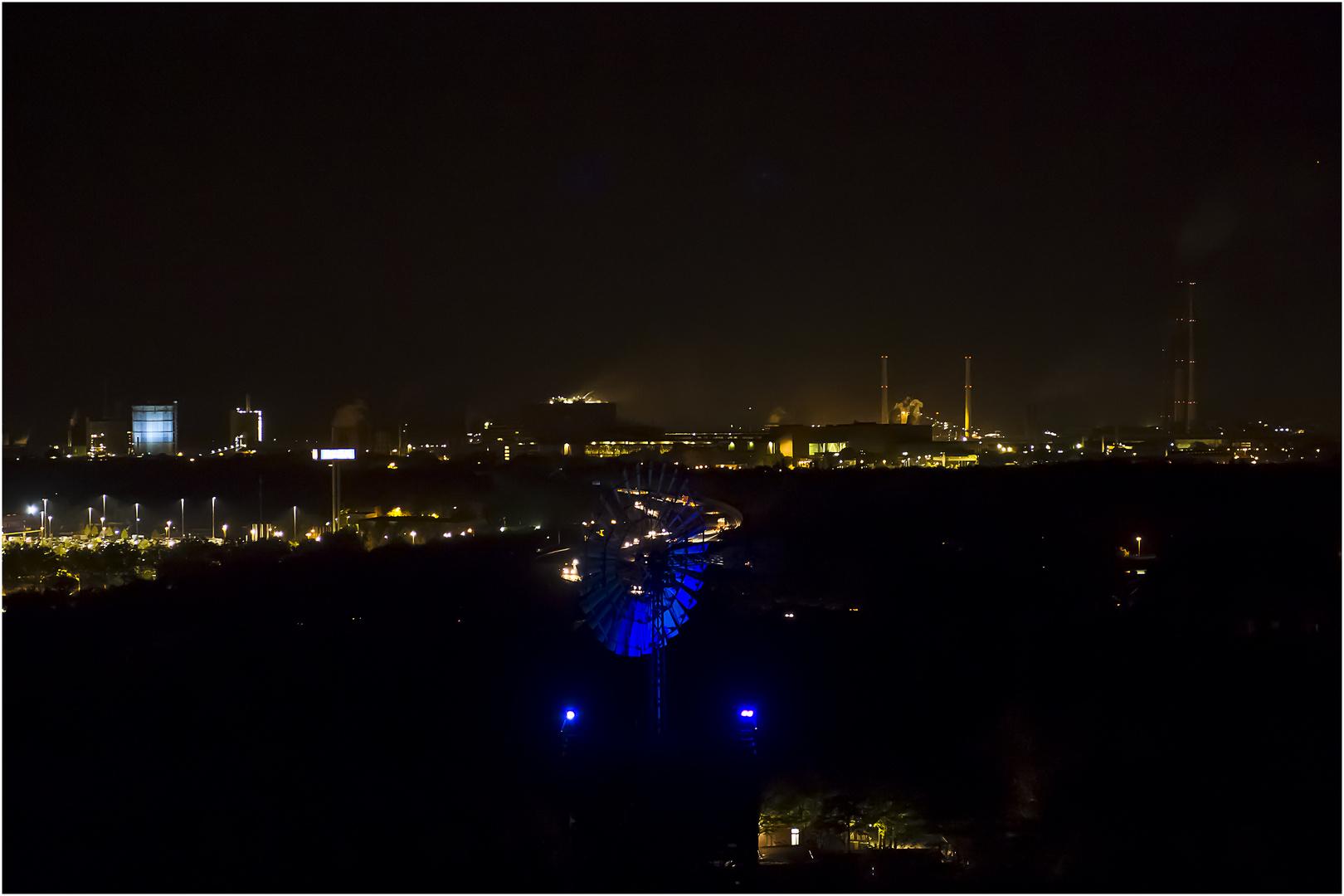 Nacht über der Stadt....