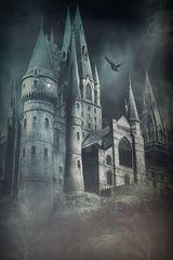 Nacht über Hogwarts