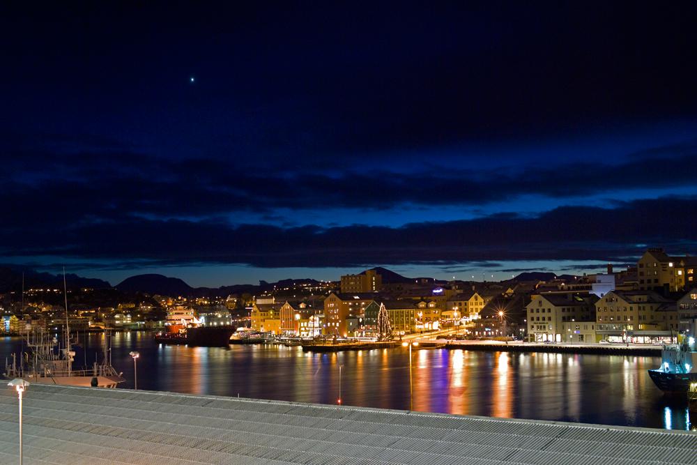 Nacht über Molde
