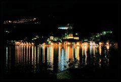 Nacht über Monte Isola