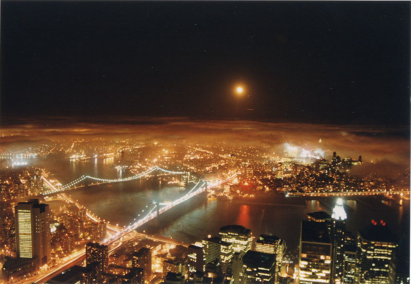 Nacht über New York City