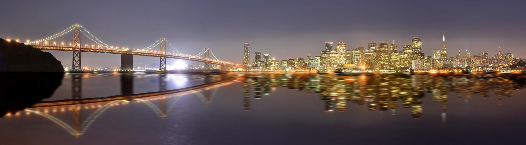 Nacht über San Francisco