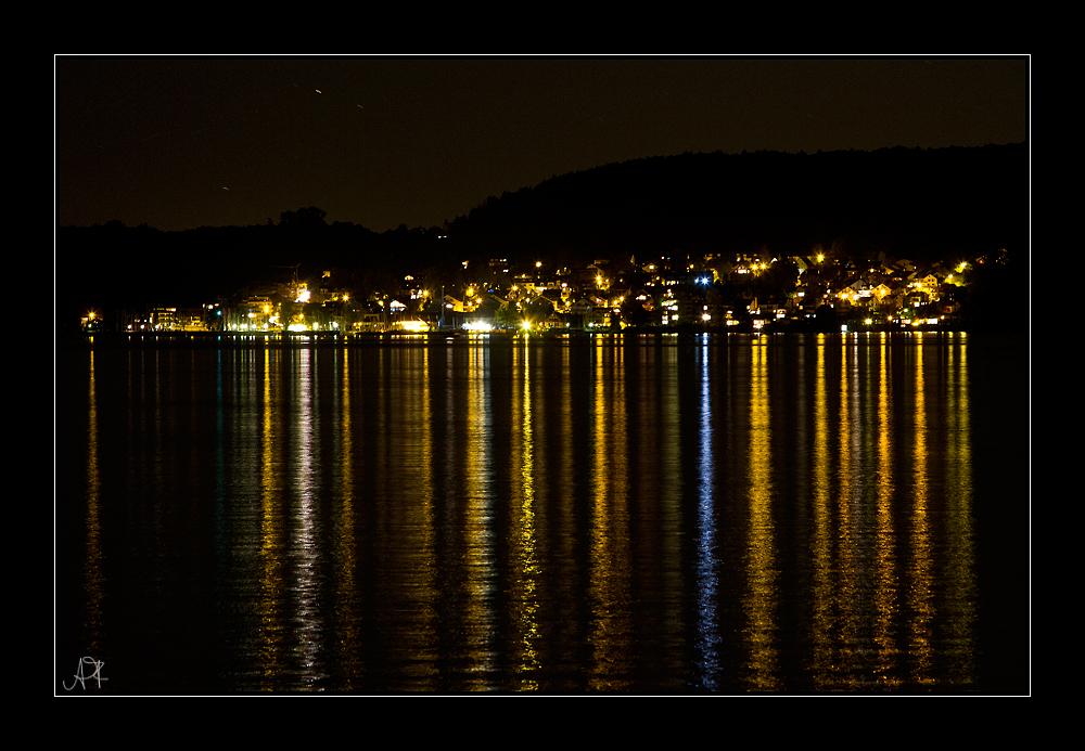 Nacht überm Bodensee