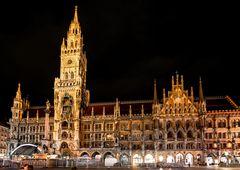 Nachtanbruch in München