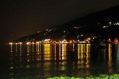 Nachtaufnahme Garda See