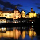 Nachtaufnahme Schloss Neuburg an der Donau