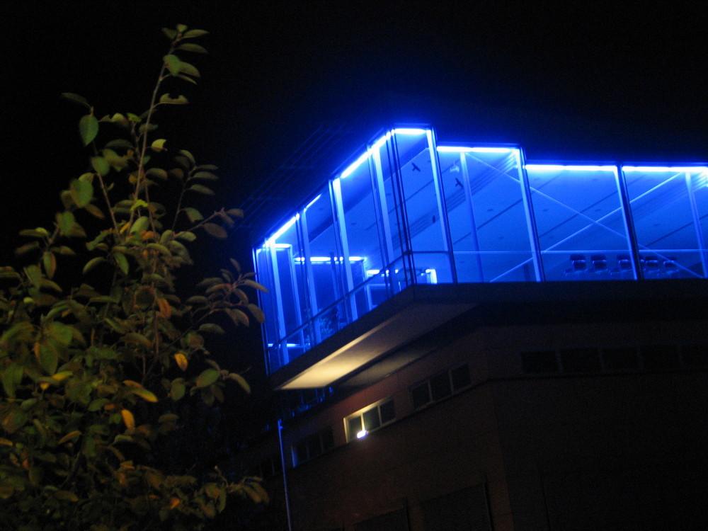 Nachtbild blau