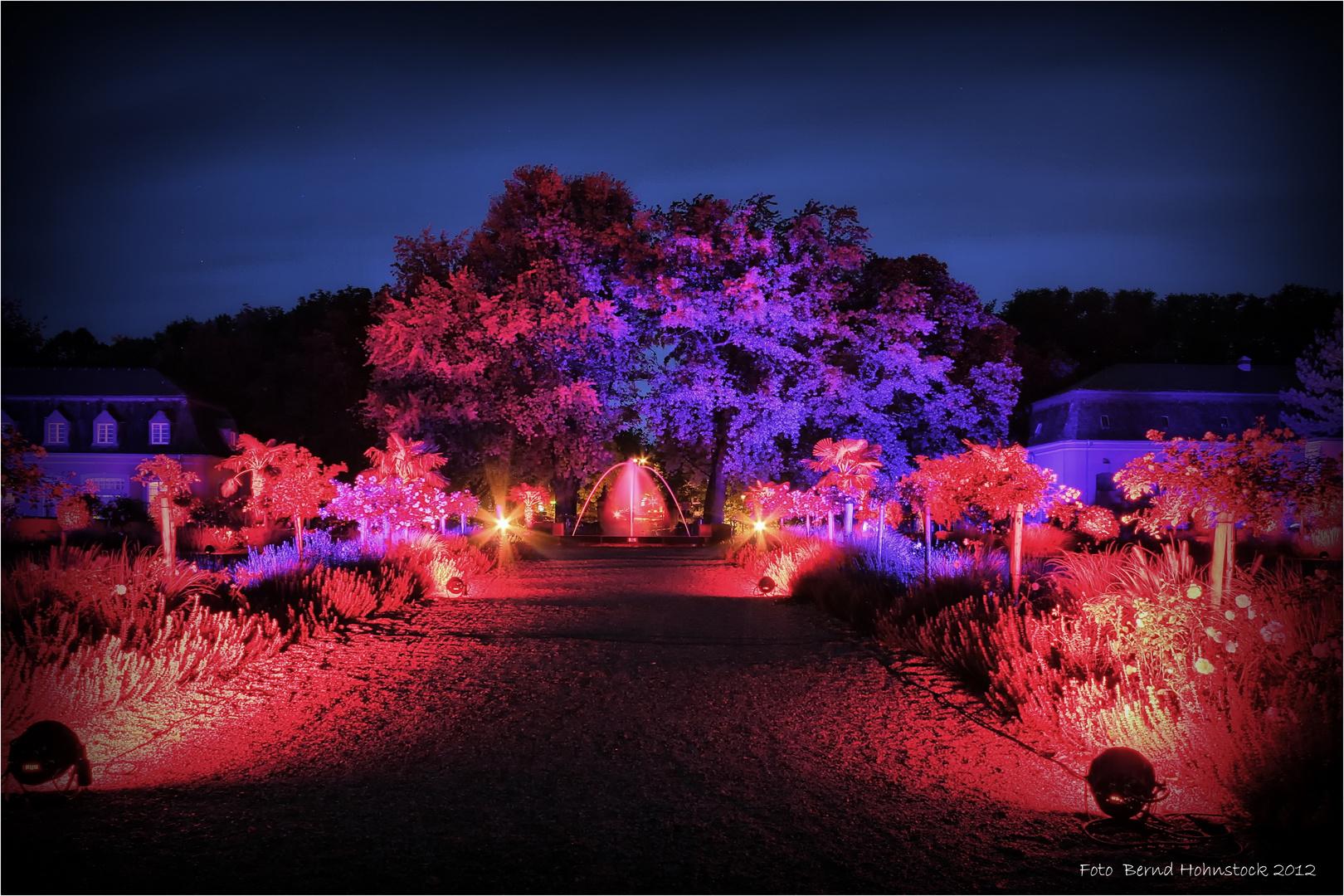 Nacht.Bilder an Schloss Wickrath