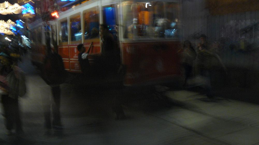 Nachtfahrt in Istanbul