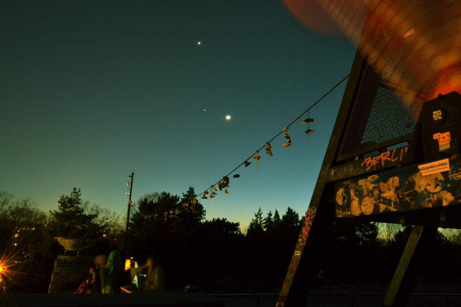 Nachtgang zu Fuß
