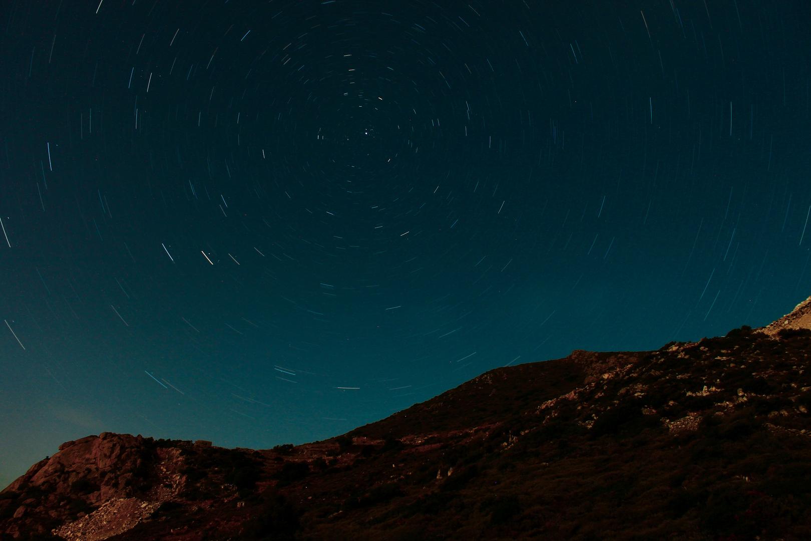 Nachthimmel auf Naxos