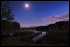 Nachthimmel über dem Behlersee