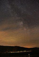 Nachthimmel über dem Titisee