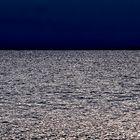 Nachthimmel und Meer