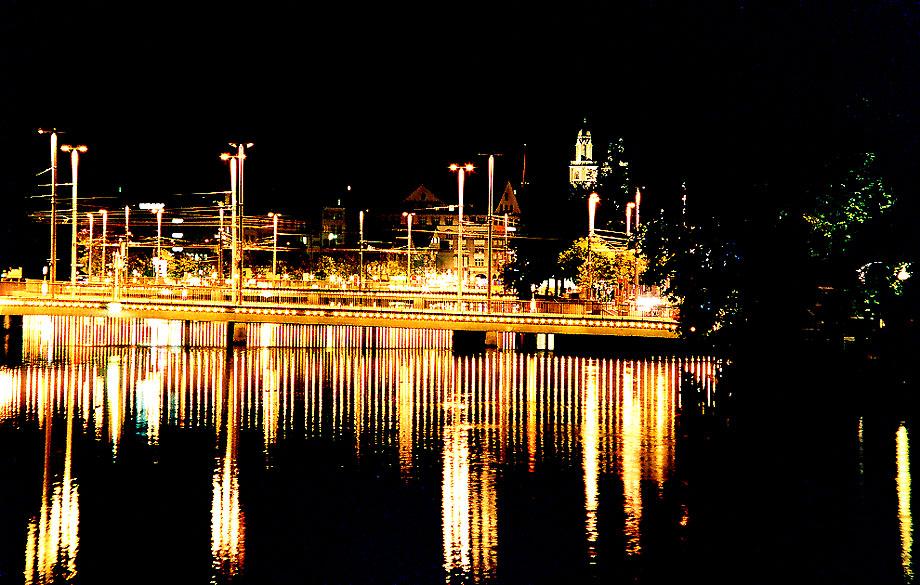 Nachtimpressionen Zürich (1) Reload