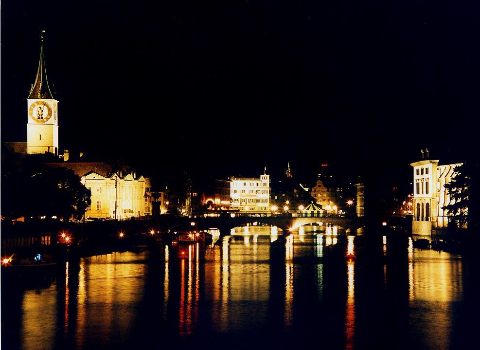 Nachtimpressionen Zürich (2)