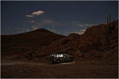 - Nachtlager an der Isla de Pesca, Salar de Uyuni, Bolivien -