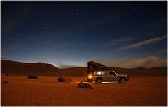 Nachtlager auf 5000m - Südbolivien