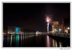 Nachtleben am Innenhafen