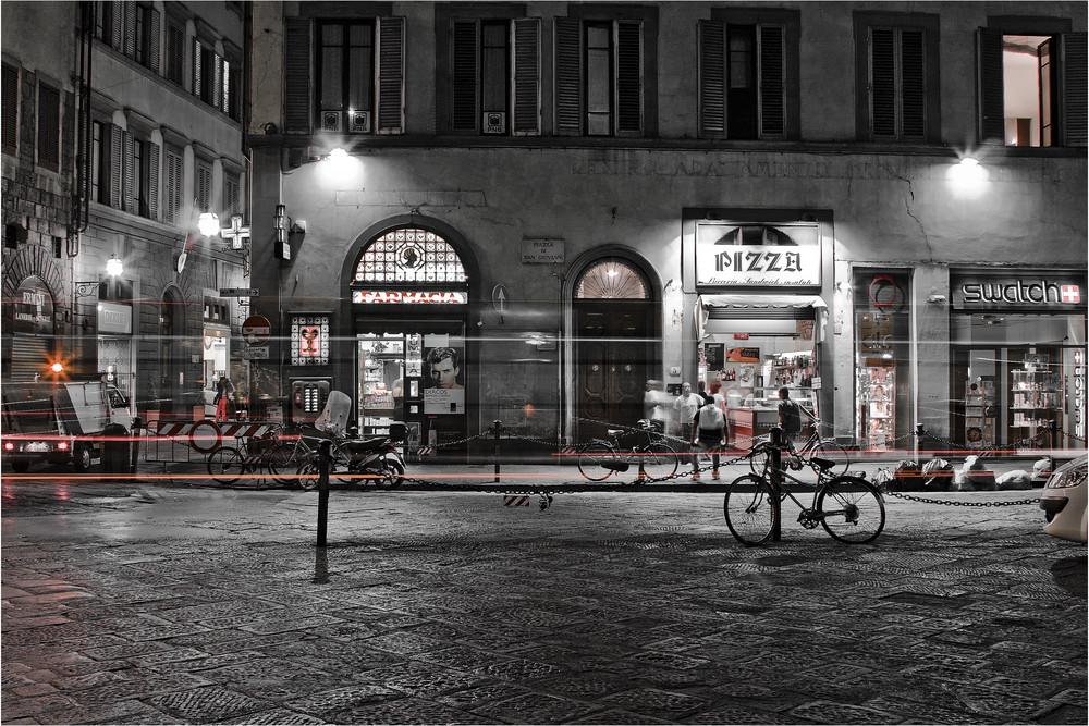 ..Nachtleben in Firenze..