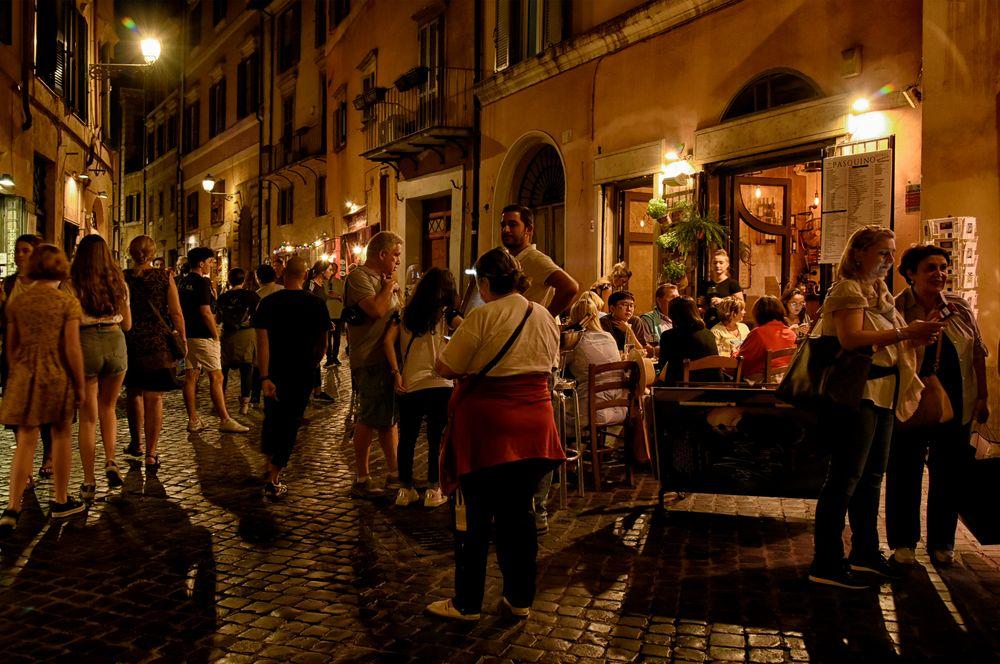 Nachtleben in Rom #
