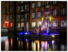 Nachtlichter am Fleet