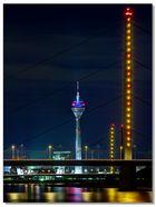 Nachtlichter am Rhein