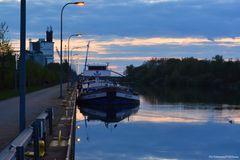 Nachtruhe auf dem Mittellandkanal