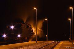 Nachts am Bahnhof...