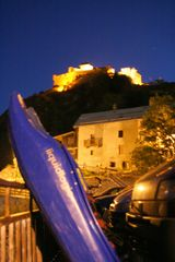 Nachts am Burggraben