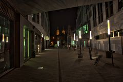 Nachts am Domplatz